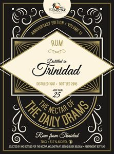 Picture of Trinidad 25yo 1991/2016 Rum DD