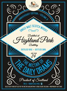 Picture of Highland Park 24yo 1992/2016 The Nectar of the Daily Drams