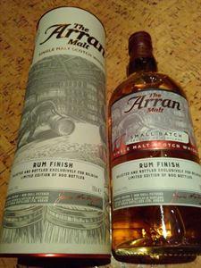 Picture of Arran 2007 Rum Finish For Belgium