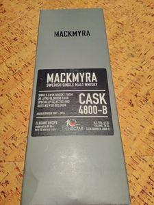 Picture of Mackmyra Oloroso Sherry for Belgium