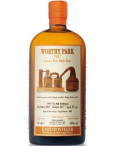 Picture of Worthy Park 2007/2017 Jamaica Rum