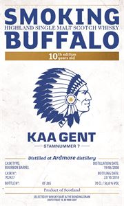 Picture of Smoking Buffalo SB10 Ardmore 10yo 2008/2018