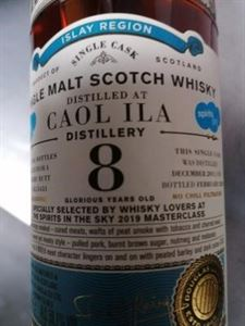 Picture of Caol Ila 8yo 2011/2020 Old Particular for Belgium