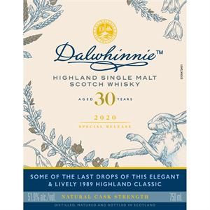 Picture of Dalwhinnie 30yo 2020