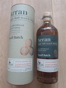 Picture of  Arran Peated Sherry Cask For Belgium 2020